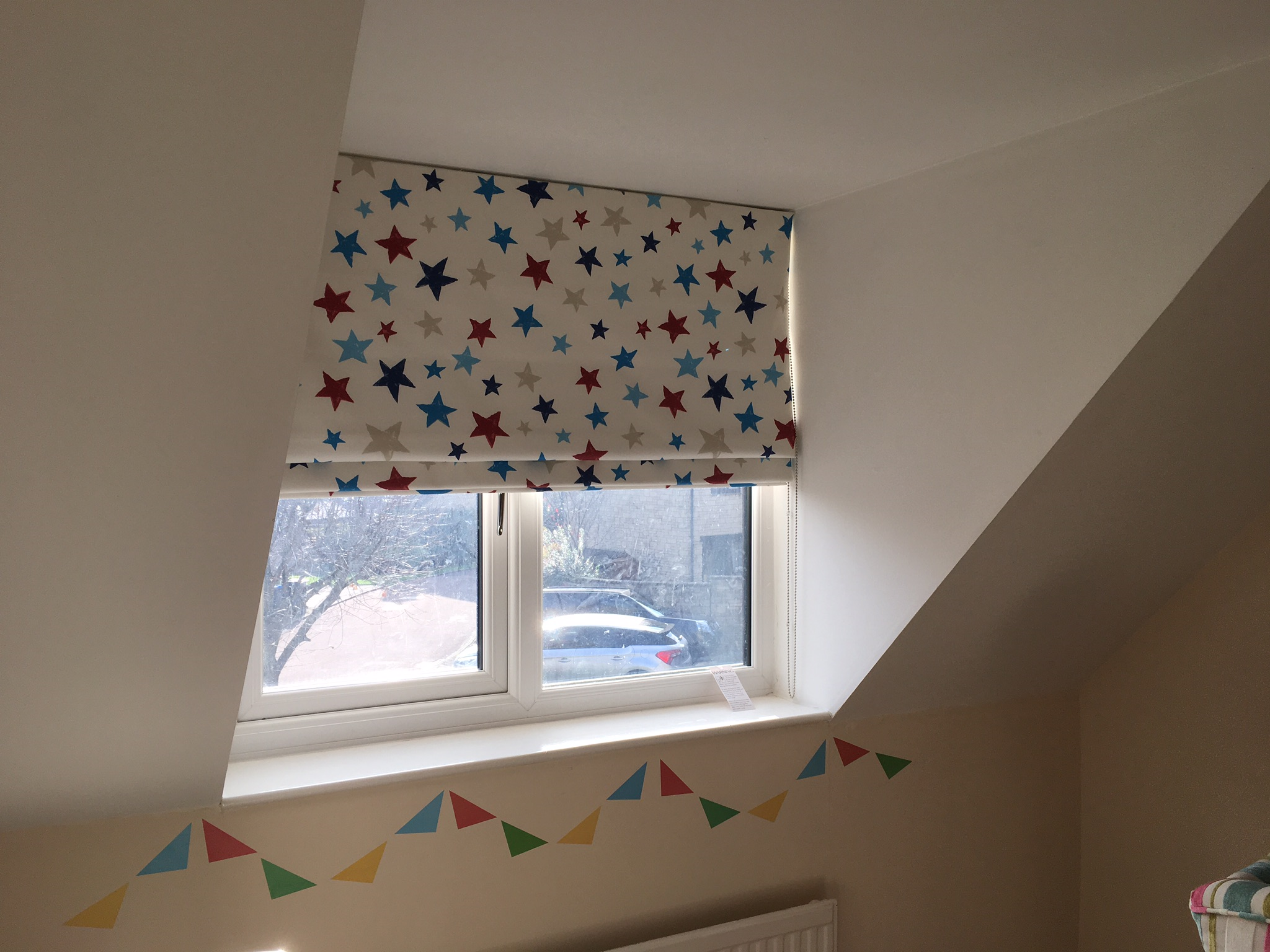Childrens Room Roller Blind, versatile and fun!