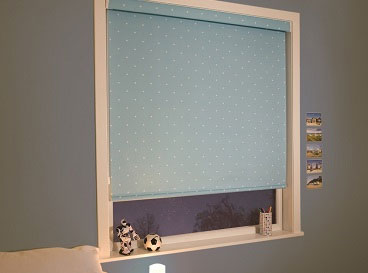 Blackout roller blinds and roman blinds with a blackout lining will helop cut out unwanted light